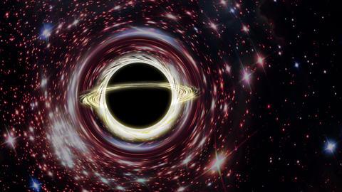 The Black hole new Animation
