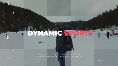 Dynamic Sports Premiere Pro Template