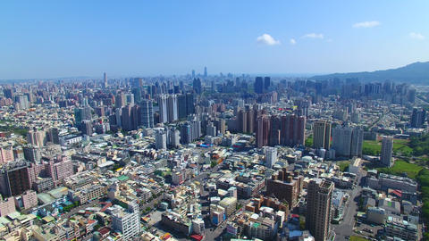 aerial view of kaohsiung city . taiwan Live影片