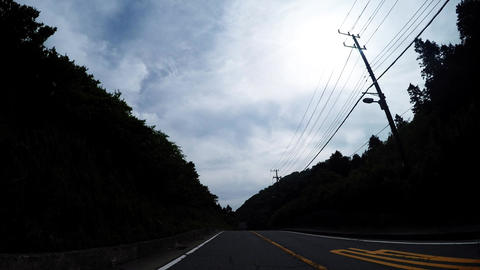 Elevation of Route 1 is the highest place./国道1号線の標高が一番高い Live Action