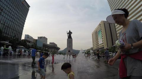 korea, seoul timelapse Footage