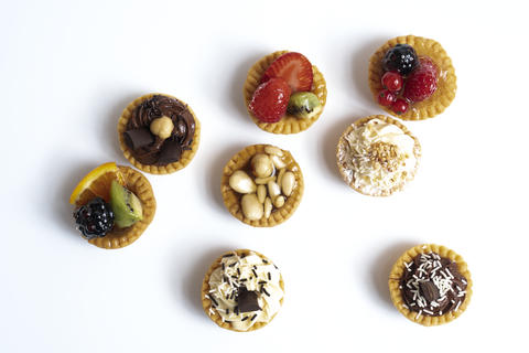 some round pastries Photo