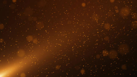 Gold Particle Looped Background 11 Animation