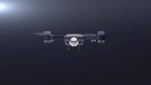 Drone Logo Reveal Apple Motion Template