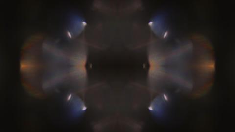 Multicolored dynamic futuristic dreamy glittering background Footage