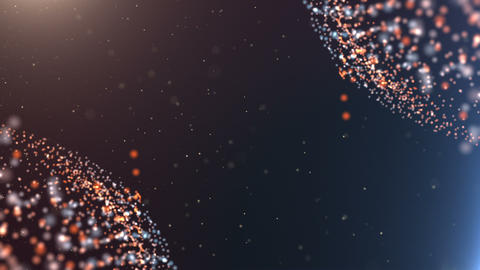 Sci-Fi Particle Background 7 Animation