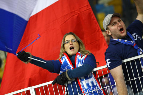 FIFA World Cup 2014 qualifier game Ukraine v France Photo