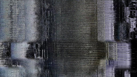 Glitch And Noise Digital Effect Views Animation