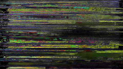Express Noise Glitch Tv Bad Signal Effect Animation