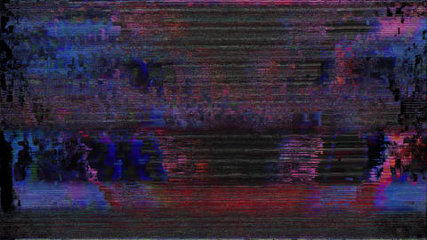 Noise Glitch Video Damage Vital Animation