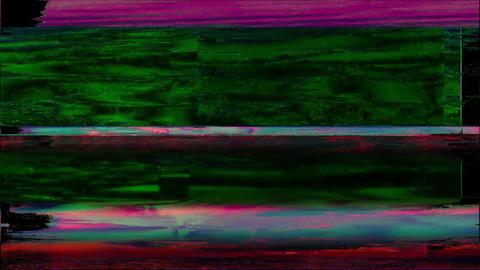 Wellness Noise Glitch Video Damage Animation