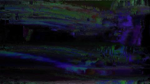 Glitch Effect Bad TV Finder Animation
