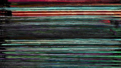 Glitch Effect Bad TV Keyword Animation