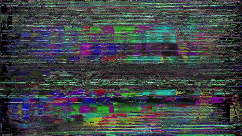 Distortion Background Digital Glitch Designs Animation