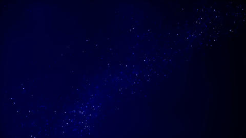 Abstract background with moving and flicker particles. Flickering Particles Footage