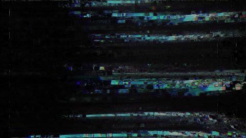 Noise Glitch Tv Bad Signal Effect Exact Animation