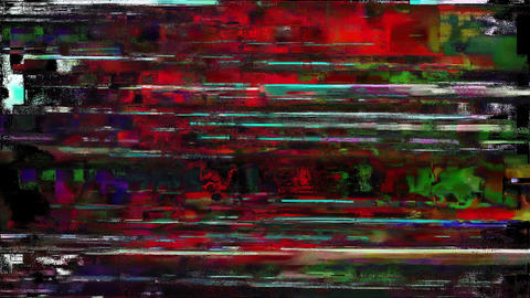 Colored Noise Digital Grunge Glitch Damage Ideas Animation