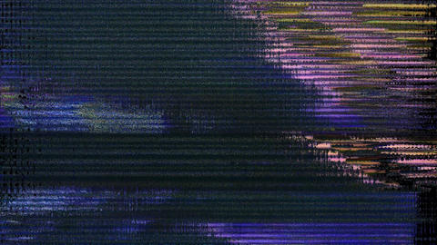 Glitch And Noise Digital Effect Security Animation