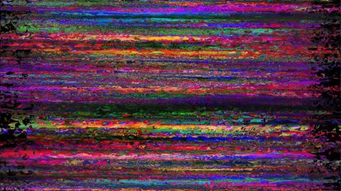 Digital Animation. Pixel Noise Glitch Error Video Damage Mob Animation