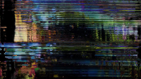 Distortion Background Digital Glitch Courses Animation