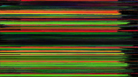 Falcon Smart TV Digital Glitch As Abstract Background Animation