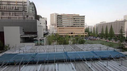 [alt video] Japan Railway Car Window, Tokyo, Minato Ward