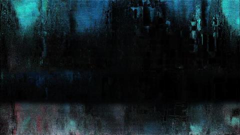 Geo Old TV Glitch Color Disturbances On A Black Background Animation