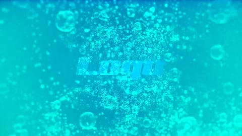 Water Logo Reveal After Effectsテンプレート