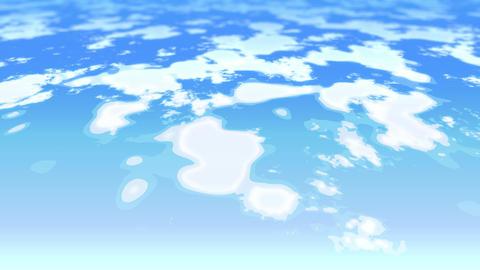 mov76_2d_sky_cloud_zoom_01 CG動画