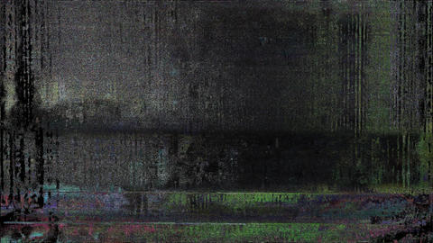 Signal Niose Grain Damaged Glitch Video Background Animation