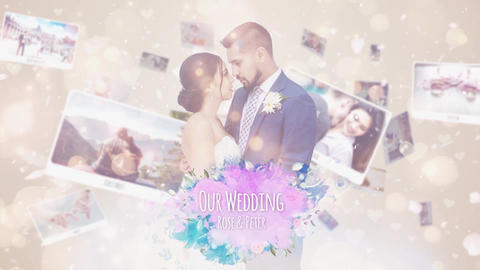 Wedding Photo Story After Effects Template