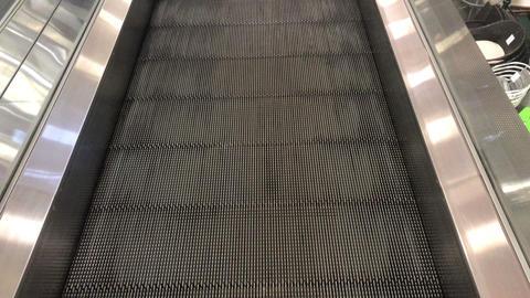 escalator movement in the mall GIF