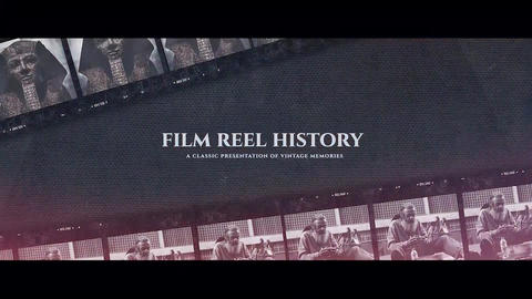 Film Reel History Premiere Pro Template