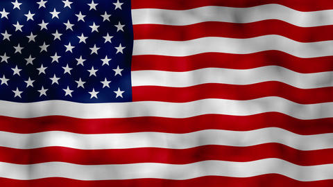 American flag waving Usa flag waving United states flag waving Animation