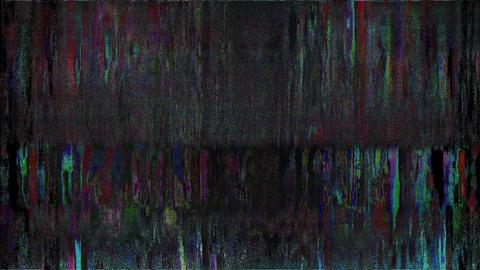 Popular Digital Pixel Noise Glitch Art Effect Animation