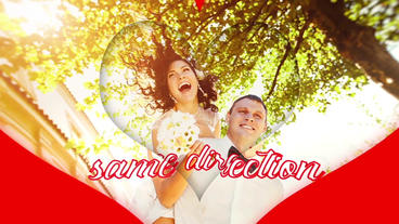 Heart Slideshow Love After Effects Template
