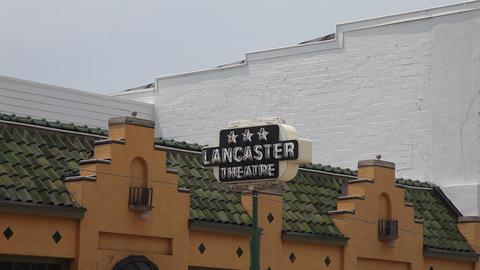 Lancaster Theater Main Street Grapevine Texas Footage