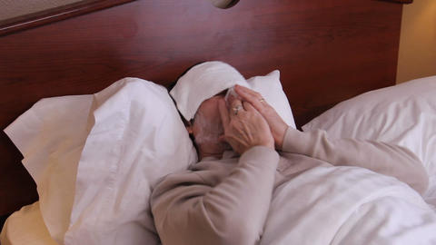 Sick in Bed Coughing Live Action