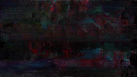 Luminous Signal Niose Grain Damaged Glitch Video Background Animation