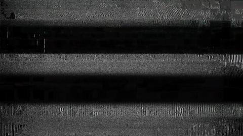 BlueDot Glitch TV Static Noise Signal Problems Animation