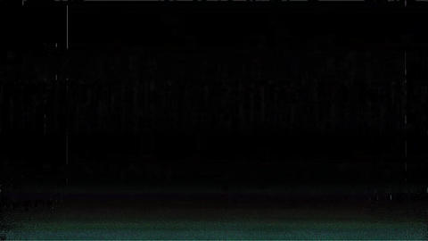 Liberty Glitches From An Old Tape, Black Screen Animation