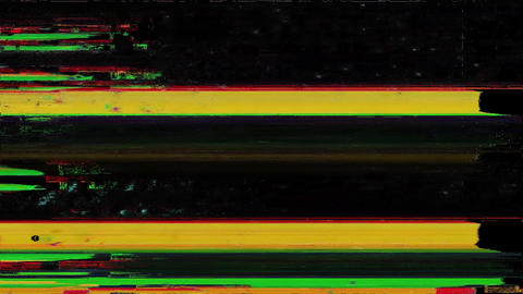 Outstanding Noise Glitch Video Damage Animation