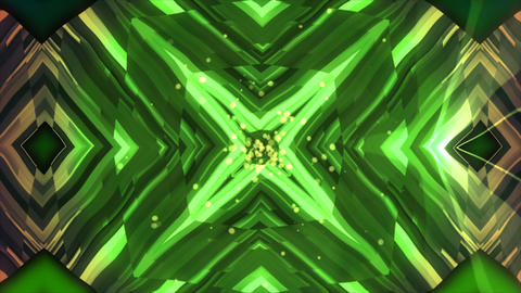Abstract mirror kaleidoscope background, 3d render computer generated backdrop Footage