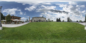 The Castle of Udine VR 360° Photo