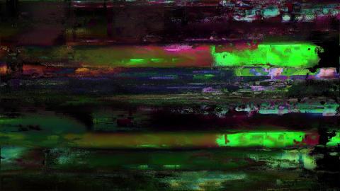 Batch Bad Old TV Station Off Air Analog Glitch Animation