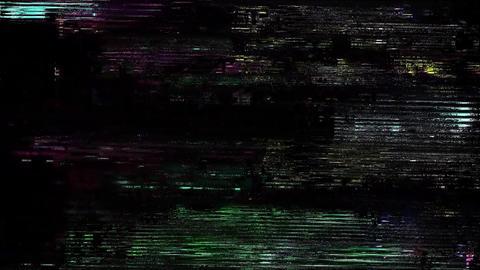 Daystar Glitch Effect Bad TV Animation