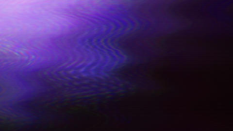 Unique purple neon bad tv psychedelic animation background Footage