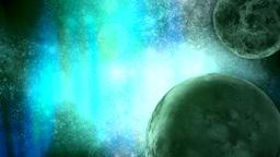 Deep space interstellar background Footage