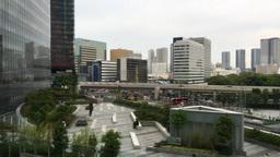 Tokyo modern buildings from subway ed GIO IMG 2260 ビデオ