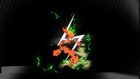 Lightning (No text) Animation